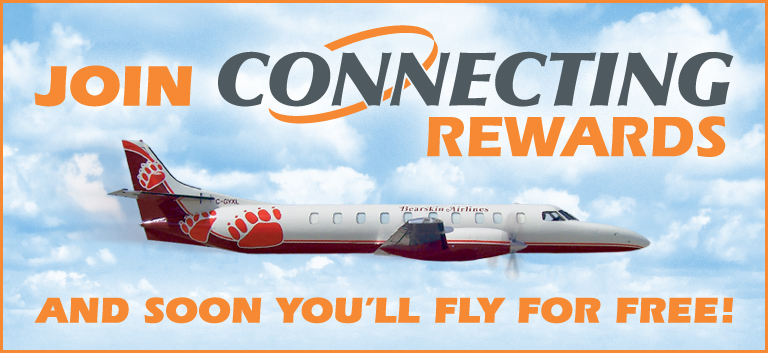 Earn Connecting Rewards with every flight!