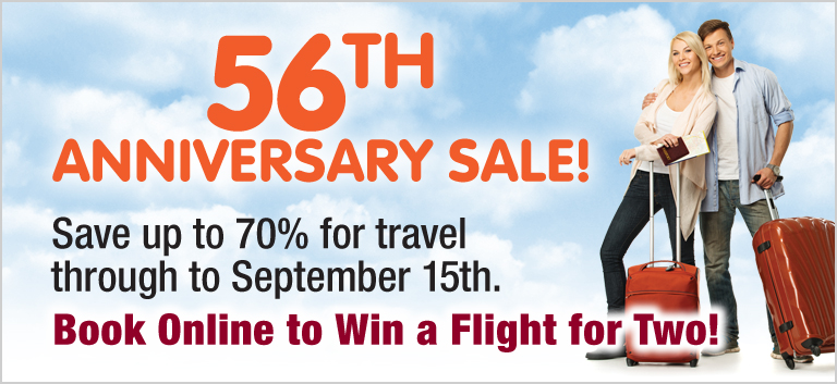 56th Anniversary Sale!