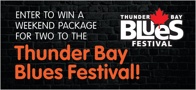 Thunder Bay Blues Festival Giveaway