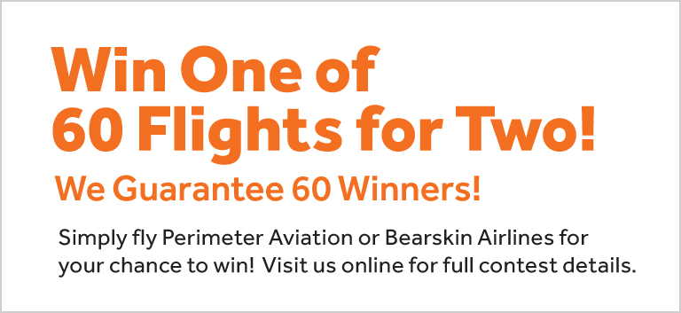 Win One of 60 Flights!